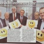 2013-01 Presse Wochen Anzeiger - Mit Zuversicht ins neue Jahr