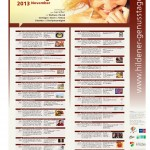 Nov. 2013 Plakat Hildener Genusstage