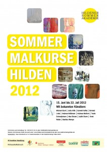 Sommerakademieplakat 2012