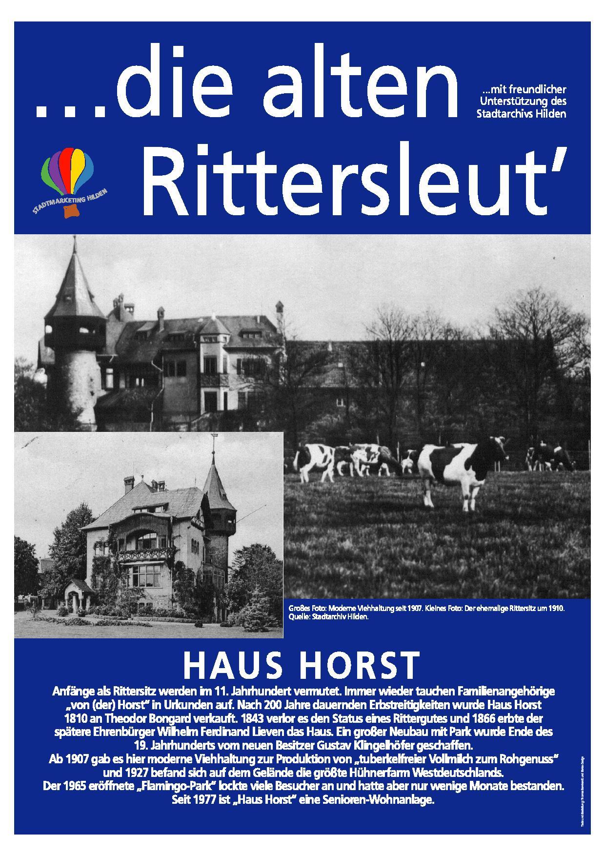 Hildener Geschichte – Stadtmarketing Hilden